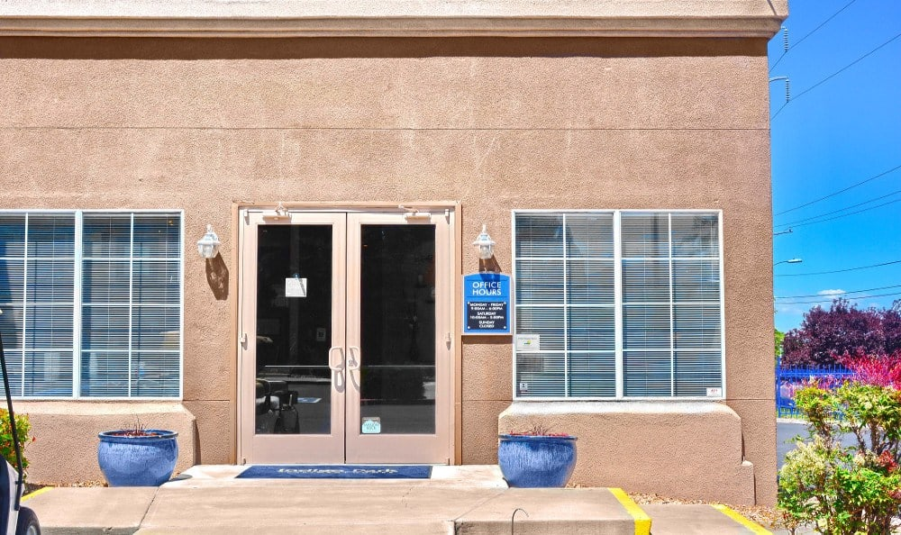 Leasing Office exterior at Indigo Park in Albuquerque, NM