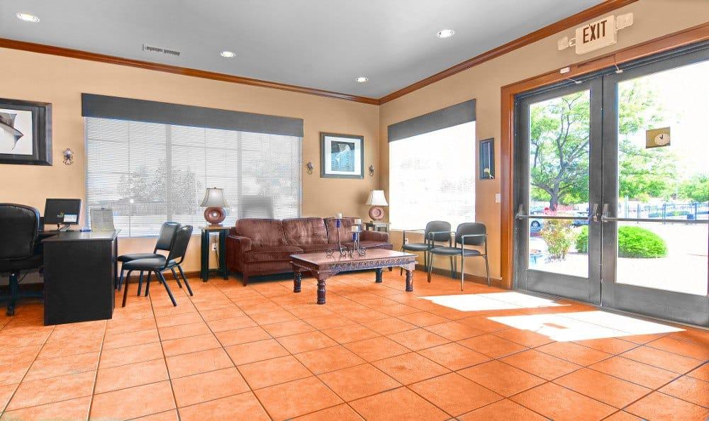 Leasing Center interior at Indigo Park in Albuquerque, NM