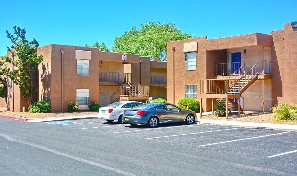 Apartment exterior at Indigo Park in Albuquerque, NM