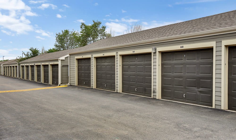 Platte View Landing offers private garages in Brighton, Colorado