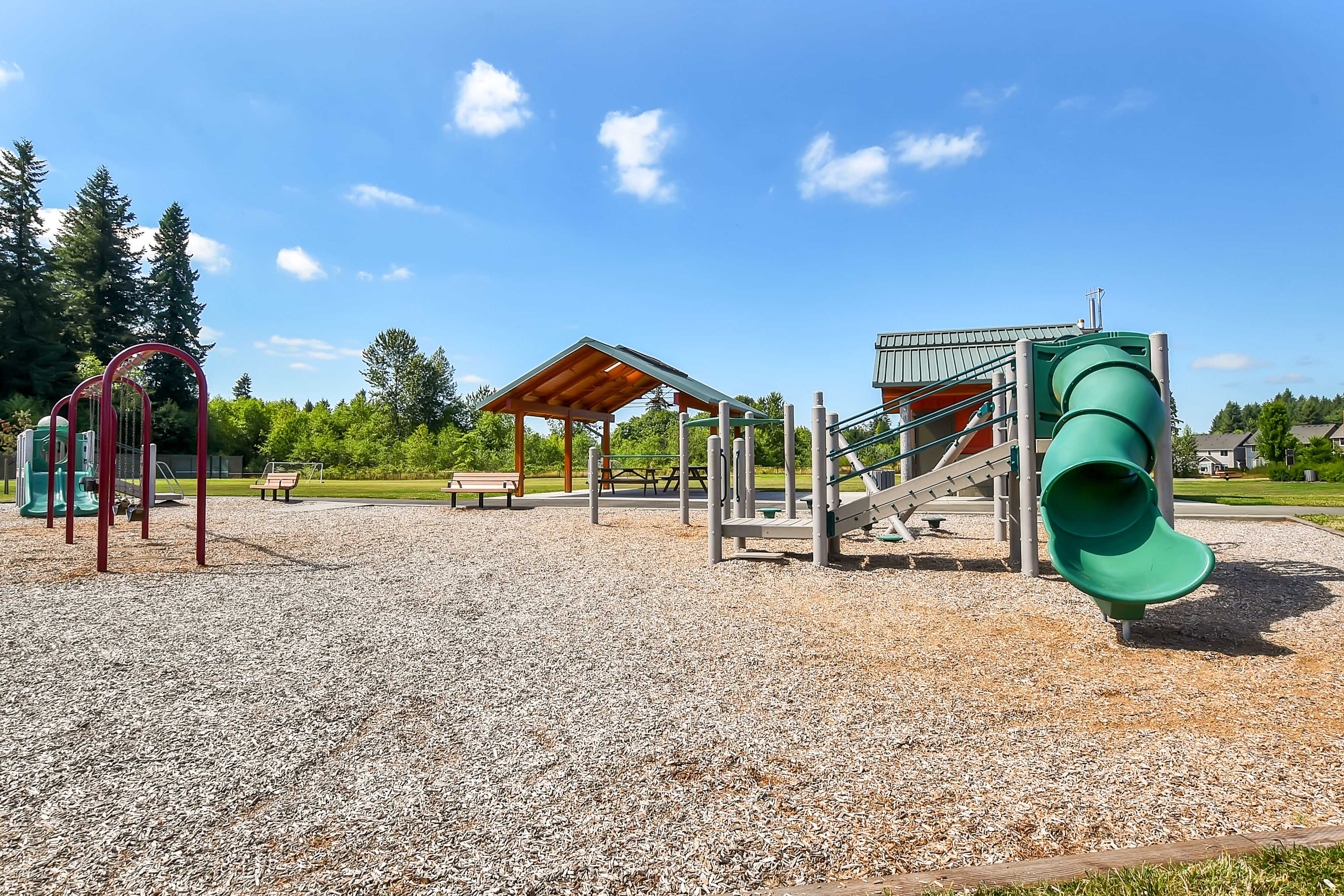 Playground At Polo Club Apartments In Olympia WA