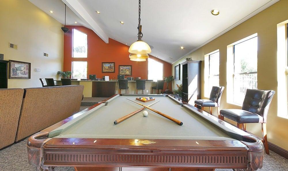 Pool Table At Renaissance Apartment Homes In Phoenix AZ