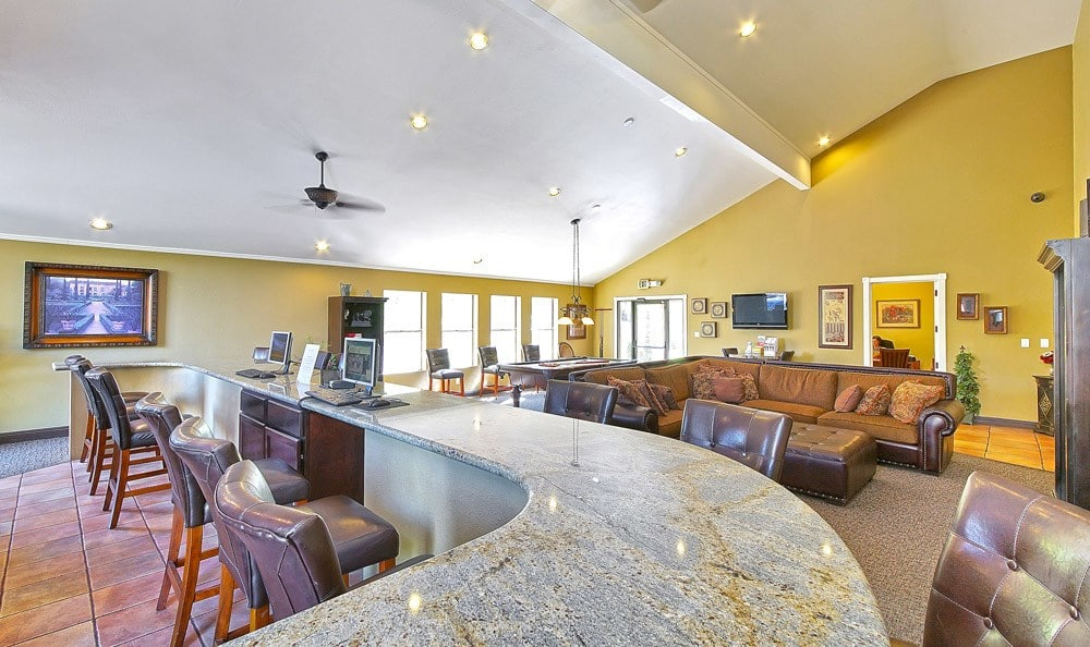 Clubhouse at apartments in Phoenix, Arizona