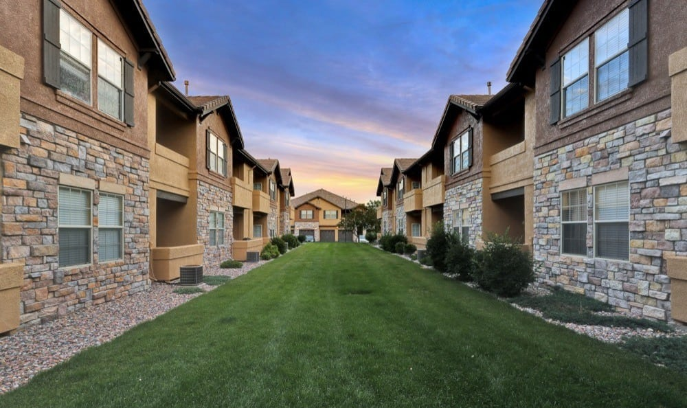 Exterior view At Resort at University Park In Colorado Springs CO