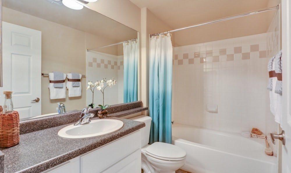 Resort at University Park offers a beautiful bathroom in Colorado Springs, Colorado