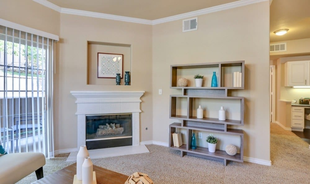 Resort at University Park offers a beautiful living room in Colorado Springs, Colorado