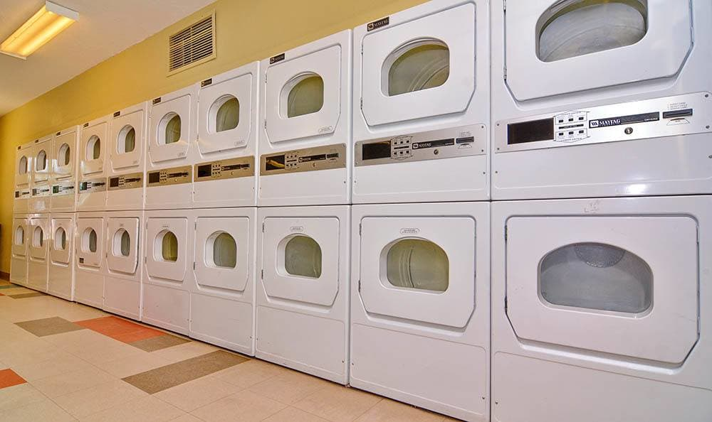 Laundry center for Albuquerque apartment residents