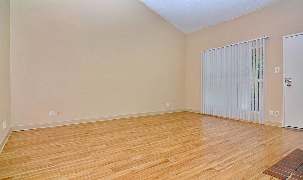 Hardwood floors in Albuquerque apartments