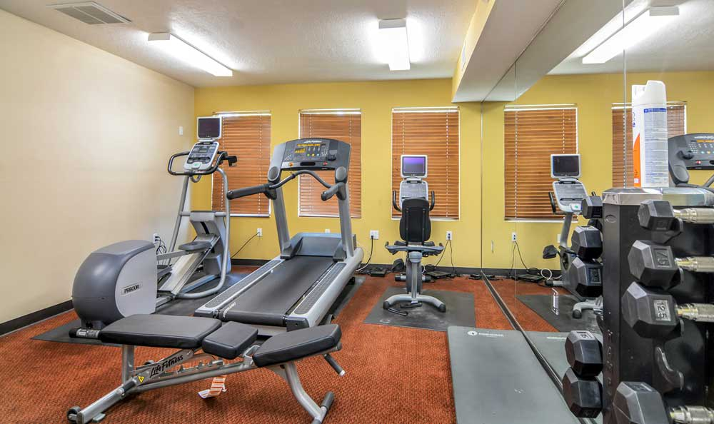 Fitness center At Las Kivas Apartments In Albuquerque NM