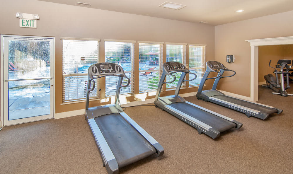 Treadmills at apartments in Boise, Idaho