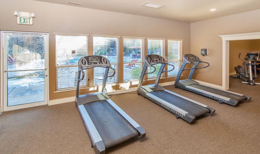 Treadmills at apartments in Boise, Idaho