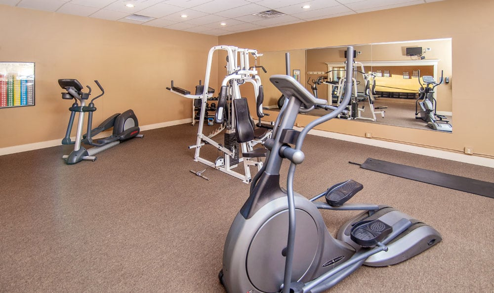 Beautiful fitness center at Monterra Townhomes in Boise, Idaho