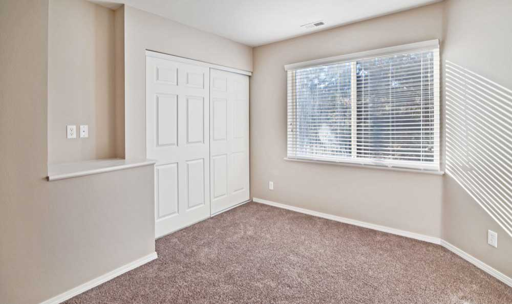 Enjoy apartments with a spacious bedroom at Monterra Townhomes