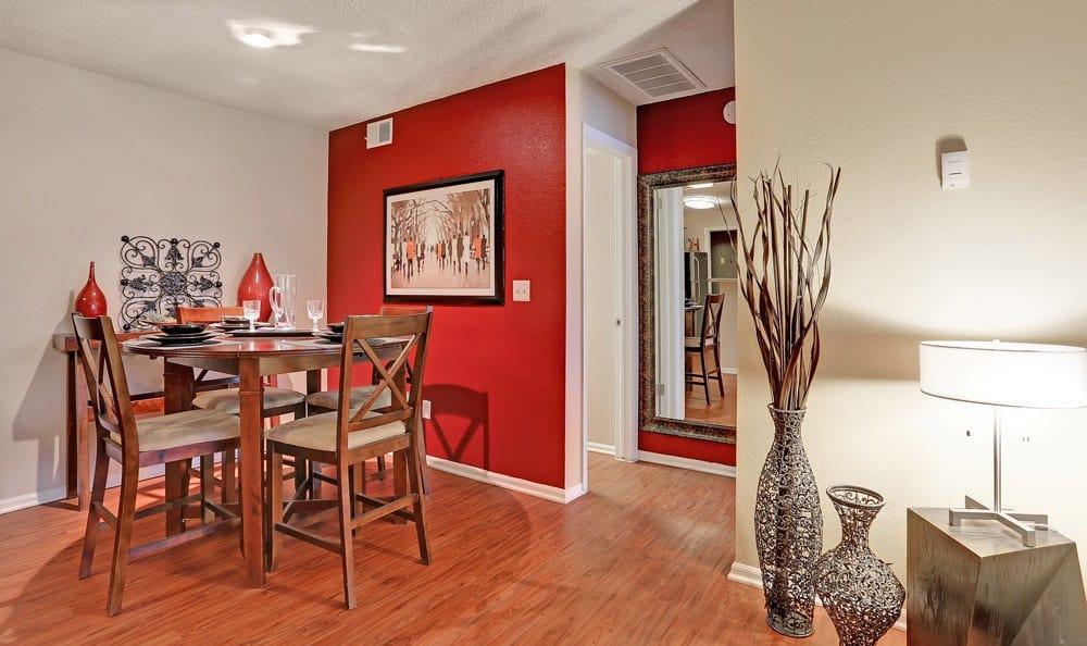 Dinning room at apartments in Colorado Springs, Colorado