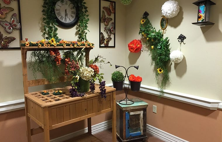 Our Garden Club here at New Dawn Memory Care has everything you or your loved one will need to tend to your plants and flowers