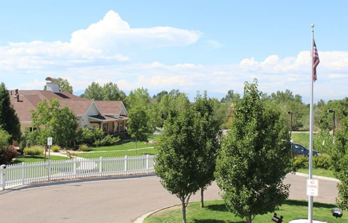 The senior living community here at New Dawn Memory Care is picturesque; schedule your tour today!