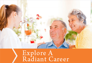 Explore a career at Radiant Senior Living