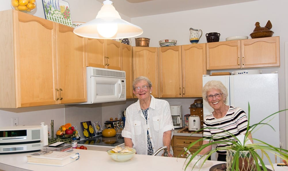 Independent Living Cottage Kitchen