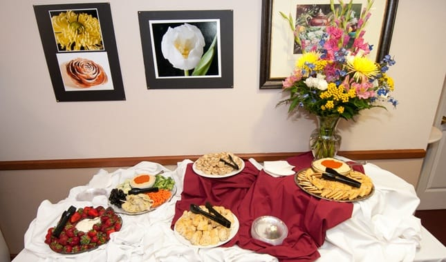 Catering at Pioneer Village, senior living in Jacksonville, OR