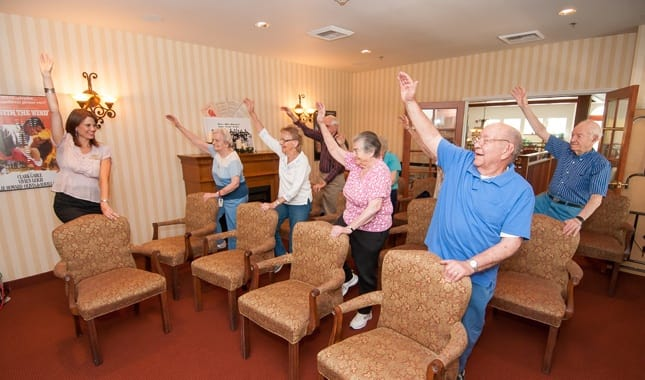 Healthy Living Activities Pioneer Village, senior living in Jacksonville, OR