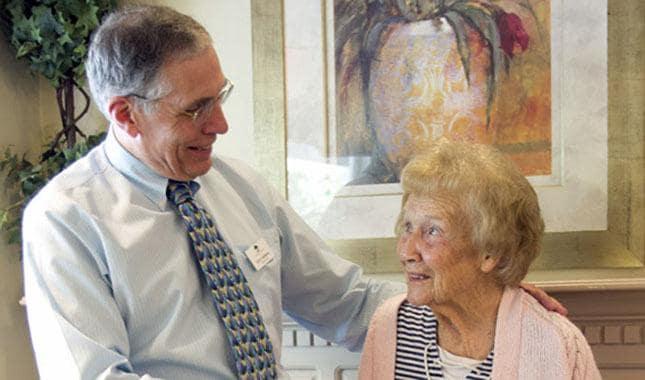 Friendly and caring staff at Farmington Square Tualatin, senior living in Tualatin, OR