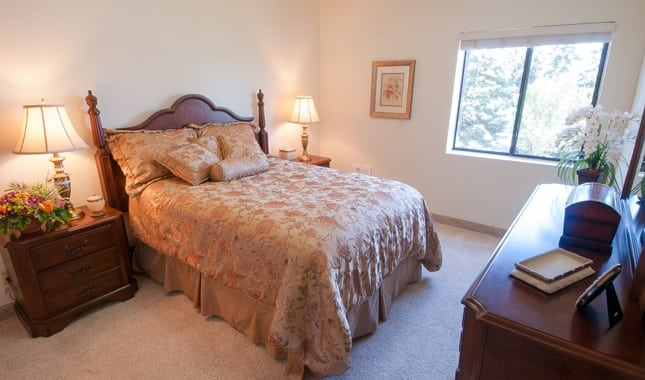 Bedroom at Baycrest Village