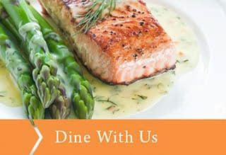 Dine with us at Baycrest Village