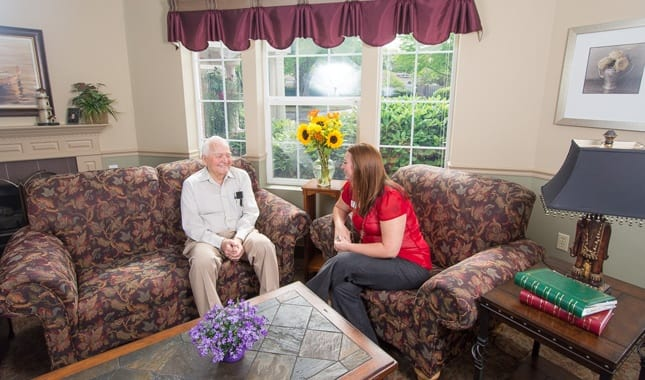 Caring staff at Farmington Square Salem, senior living in Salem, OR