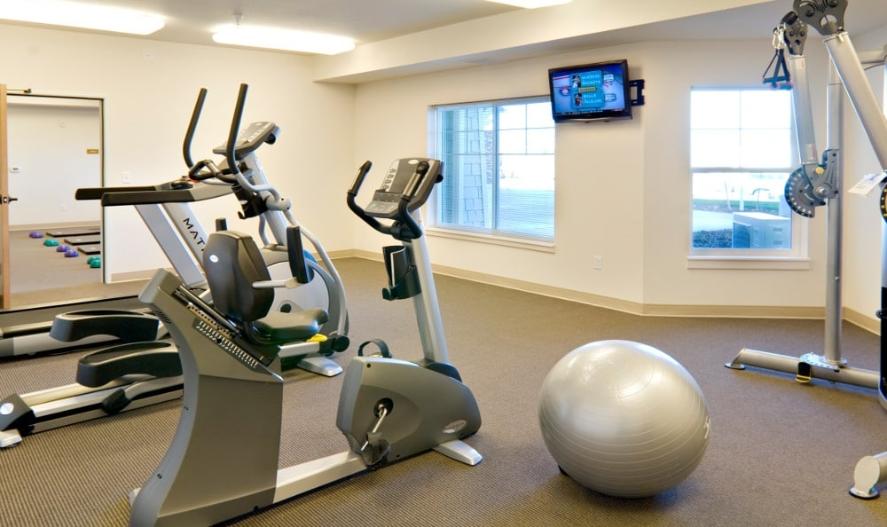 Fitness Center At Senior Living In Bozeman Montana