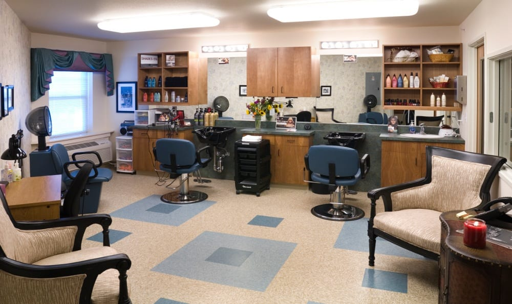 Onsight Salon At Senior Living In Bozeman Montana