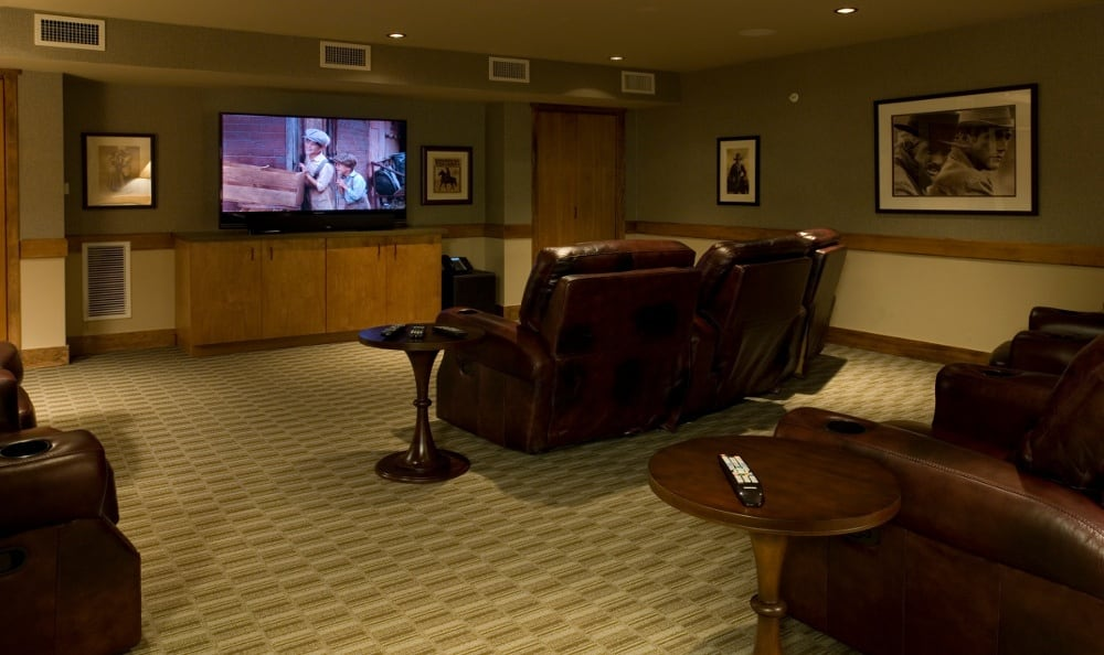 Theater At Senior Living In Bozeman Montana