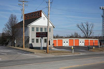 Self storage rentals located in St. Louis, Mo