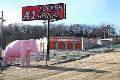 Self storage rentals located in Fenton, Mo