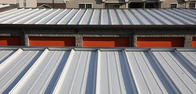 Reflective and insulated roofs to keep your self storage safe in St. Louis, MO