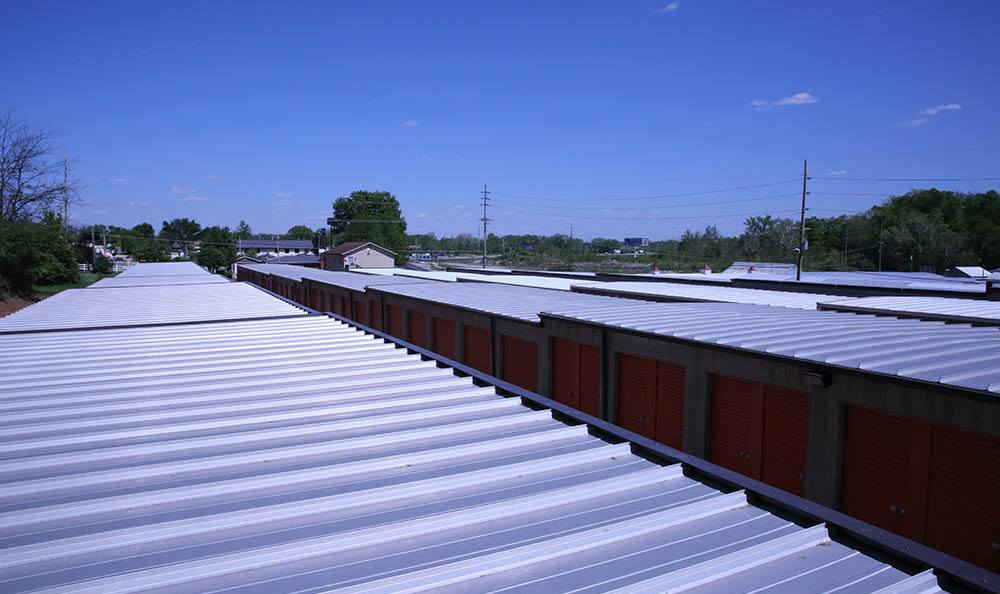 Top of the line self storage units with advanced roofs in Fenton, MO