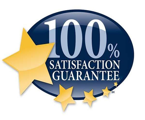 100% satisfaction guarantee for senior living residents logo