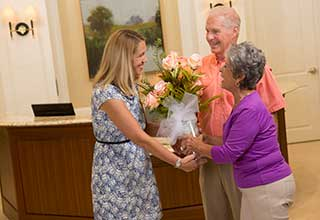 Concierge services in Richmond for senior living residents.