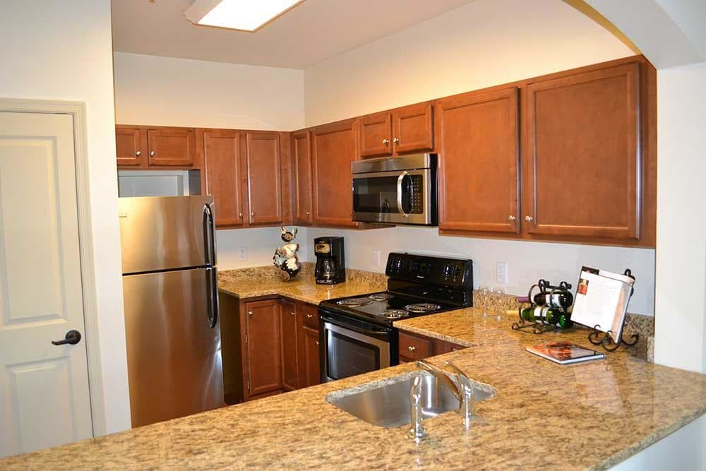 Cook whatever you'd like in the new kitchen of your home at Discovery Village At The West End