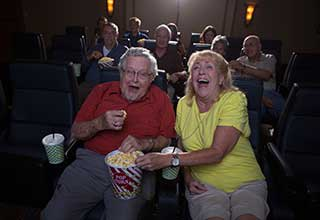 Movie services for Richmond senior living residents.