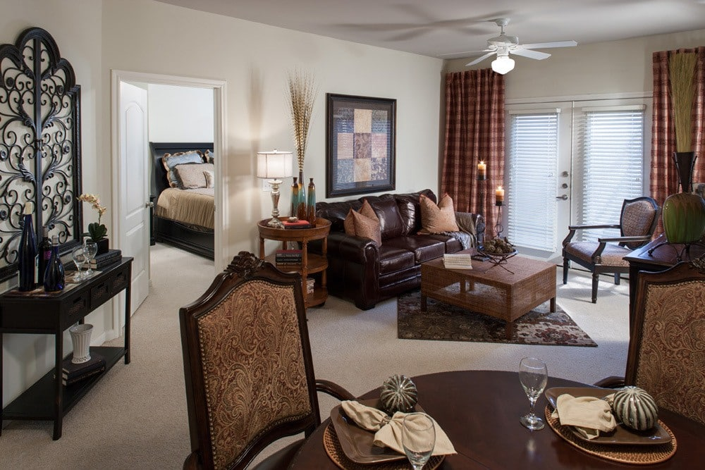 A view inside one of our luxury senior apartments