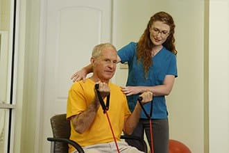 Fitness programs for Discovery Village At Melbourne senior living residents.