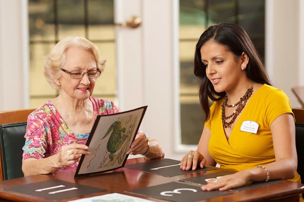 Experience memory care service from staff who genuinely care at our Melbourne senior living community