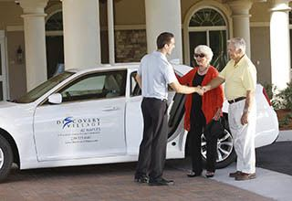 Senior living transportation in Fort Myers.