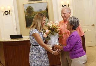 Concierge services in Fort Myers for senior living residents.
