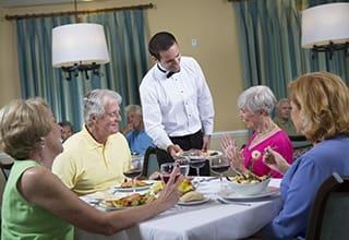 Fort Myers senior living chef.