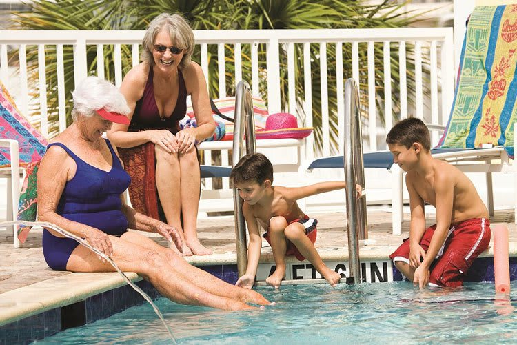Senior apartments in Florida offer the perfect place to spend time with family
