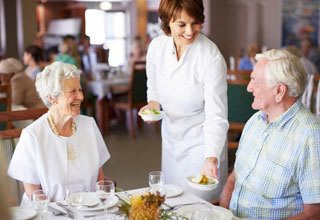 Gourmet dining at Florida senior living communities