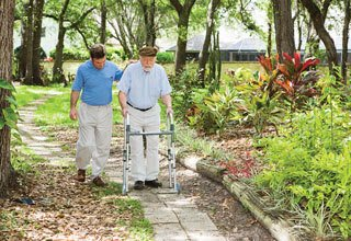 Our Florida senior living communities provide caretaking services at no extra charge