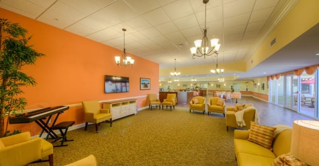 Enjoy music and entertainment any time at our Fort Myers senior living ocmmunity