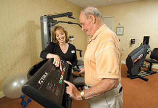 Fitness programs for Discovery Village At Sugarloaf senior living residents.